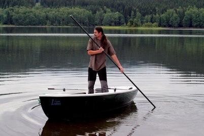 カヌー用の棒