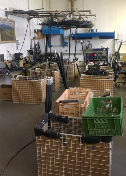 工作室はTNPの中で常に最も忙しいところです。