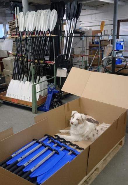 製品の出荷検査は、梱包の際にも注意を怠ってはなりません。 「製品検査を再確認してもかまワン!」